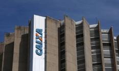 Prédio Central da Caixa Econômica Federal em Brasília. Foto: Michel Filho / Agência O Globo
