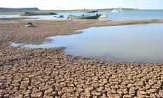 Lago de Sobradinho, na Bahia. Estiagem Foto: Marco Aurelio Martins / Agência O Globo