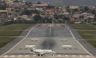 Aeroporto Carlos Drummond de Andrade, mais conhecido como Aeroporto da Pampulha, é liberado para voos comerciais de grande porte. Foto: Hoje em Dia / Agência O Globo