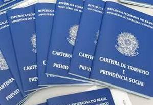 Seguro-desemprego pela internet Foto: Agência O Globo