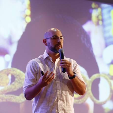 Ricardo Moraes, fundador do Playbook Deck Foto: Pablo Jacob