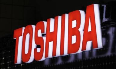 Letreiro da Toshiba Foto: Divulgação