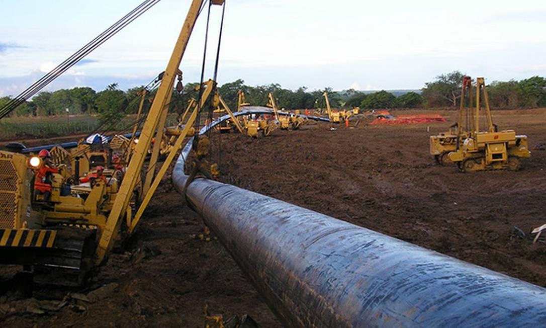 Gasoduto do Nordeste Foto: Divulgação