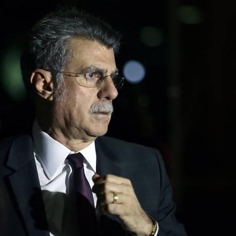 Senador Romero Jucá (PMDB-RR) Foto: Jorge William / Agência O Globo