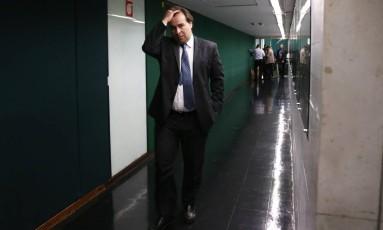 O presidente da Câmara, Rodrigo Maia Foto: Givaldo Barbosa / Agência O Globo