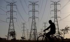 Linhas de transmissão de energia Foto: UESLEI MARCELINO / Reuters