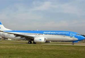 Por causa da paralisação convocada pela CGT Argentina, Aerolíneas e a Latam pedem que passageiros não se dirijam aos aeroportos Foto: Divulgação