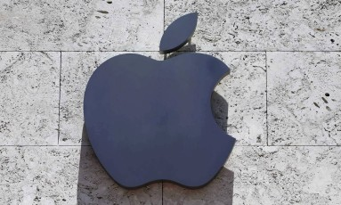 Logo da Apple em uma loja de Miami Beach, na Florida. Foto: Alan Diaz / AP