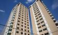Mercado imobiliário - Prédio de 180 apartamentos em Icaraí. Foto: Márcio Alves / Agência O Globo