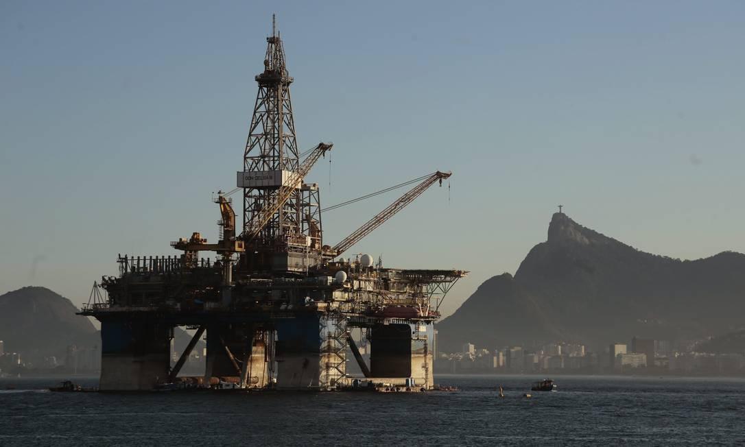 Plataforma de petróleo Foto: Thiago Freitas / Agência O Globo