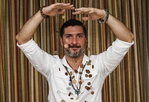 Thiago Valadares, investidor em bitcoins . Foto: Edilson Dantas / Agência O Globo