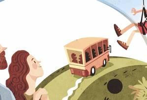 Cuidados na hora de contratar serviços de féris para os filhos Foto: Ilustração / Ilustração