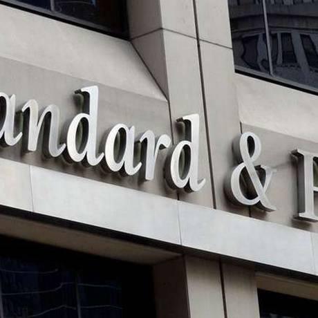 Agência de classificação de risco S&P Foto: Reprodução