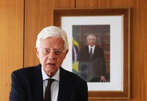 Ministro Moreira Franco Foto: Ailton de Freitas / Agência O Globo