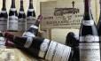 Garrafas do vinho Borgonha Romanee-Conti Foto: Reprodução de internet