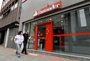 Banco Santander Foto: Paulo Friedman / Bloomberg