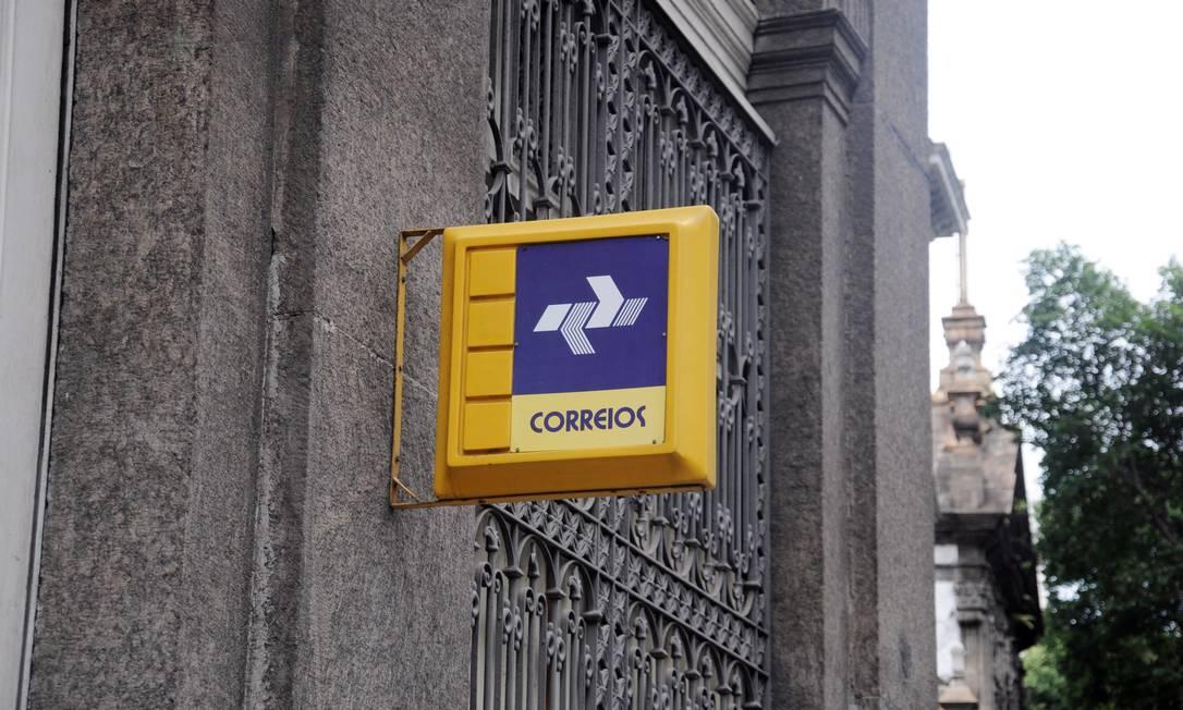 Primeira Agência dos Correios, na Rua Primeiro de Março, no Centro do Rio. Foto: Lucas Tavares / Agência O Globo