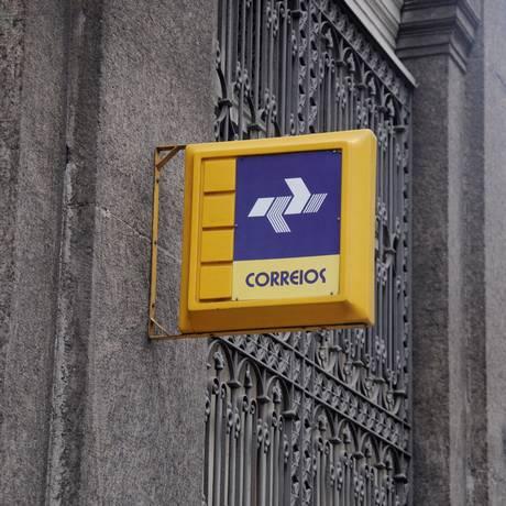 Agência dos Correios Foto: Agência O Globo