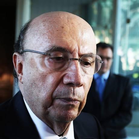 Ministro da Fazenda, Henrique Meirelles. Foto: Ailton de Freitas / Agência O Globo