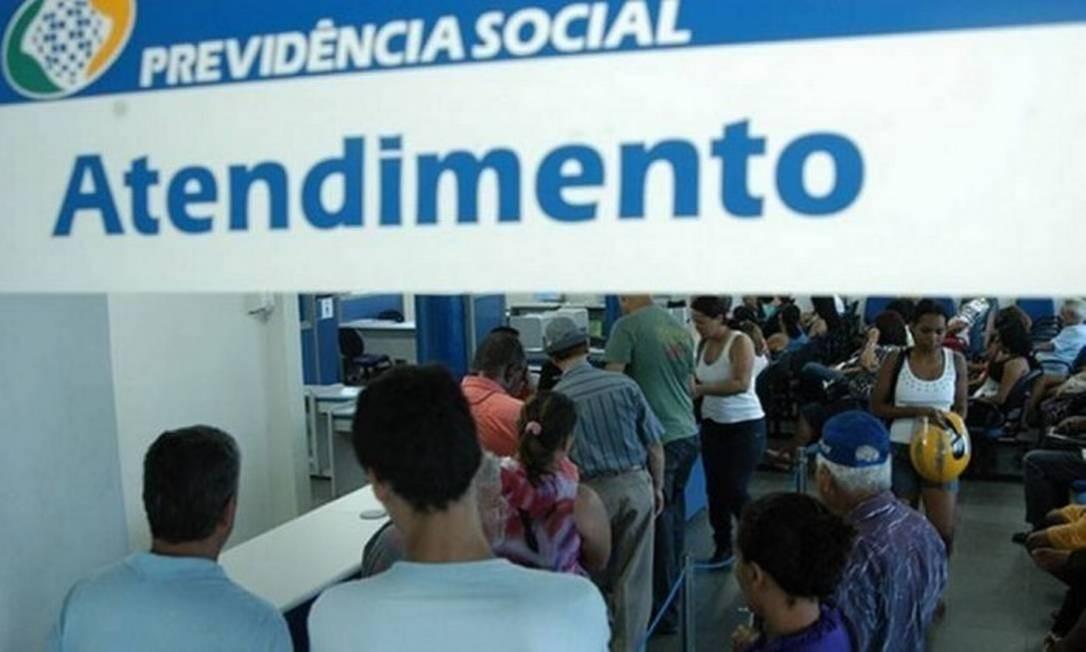 Antedimento no posto do INSS do Rio após três meses de greve. - Posto de Irajá. Foto: Arquivo