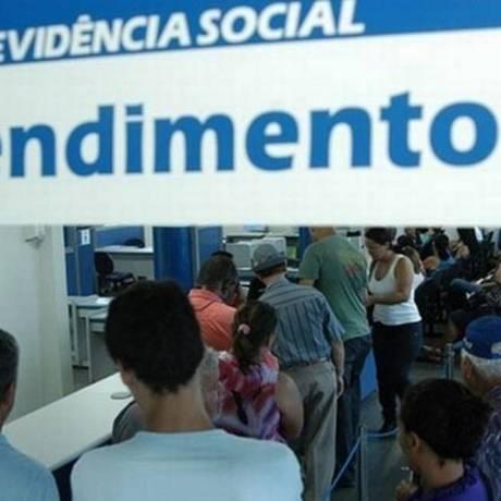 Atendimento no posto do INSS do Rio Foto: Agência O Globo