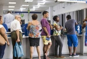Novas regras para a aposentadoria. Reforma da Previdência Foto: Agência O Globo