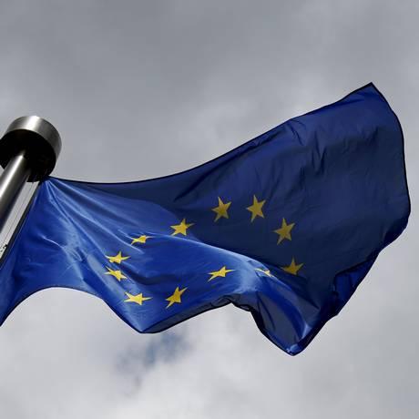 Bandeira da União Europeia Foto: Francois Lenoir / Reuters