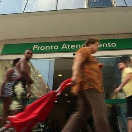 Base de clientes de planos de saúde subiu em janeiro Foto: Custodio Coimbra / Agência O Globo