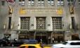 Fachada do hotel Waldorf Astoria em Nova York Foto: SPENCER PLATT / Divulgação