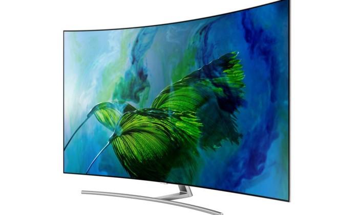 Samsung investe em modelos com telas curvas Foto: Modelos com telas curvas/Divulgação