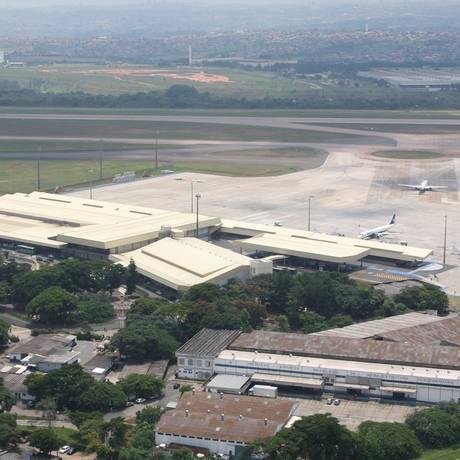 Aeroporto de Viracopos, em Campinas Foto: Divulgação/Infraero