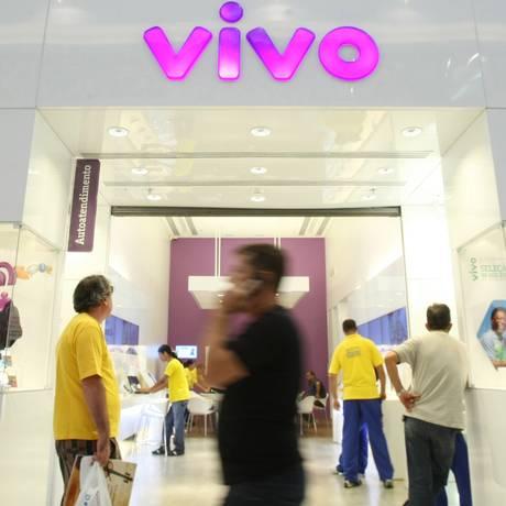 Loja da Vivo em Brasília Foto: Adriano Machado/Bloomberg