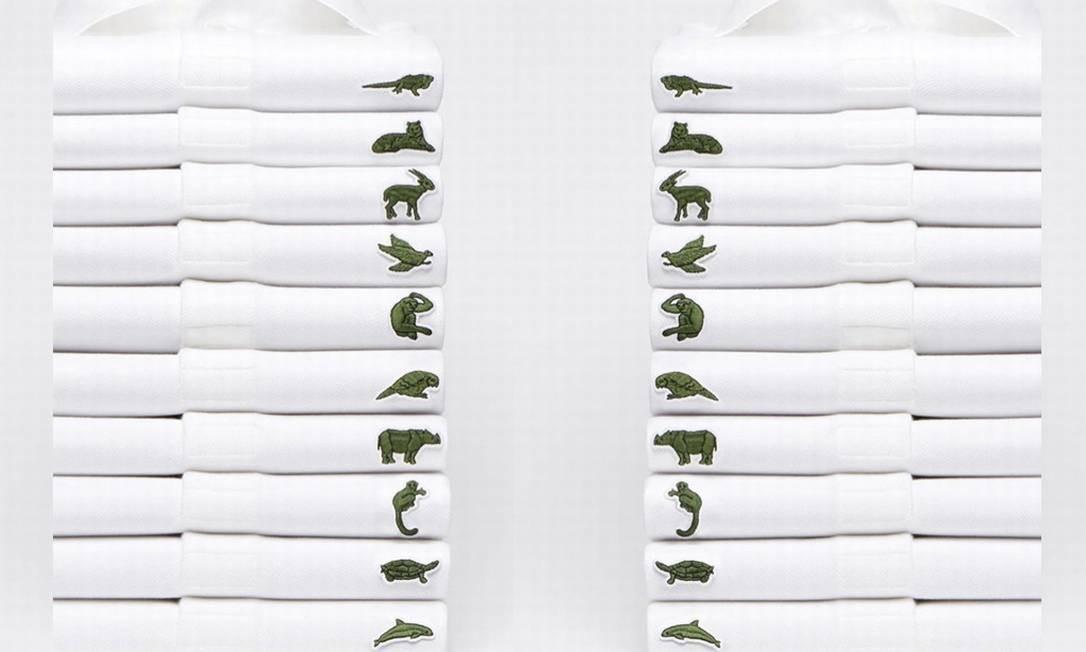 Lacoste substitui, temporariamente, o logo do crocodilo de suas camisas -  Jornal O Globo 6e903cf9b8