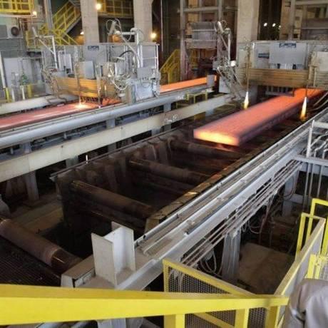 Fábrica da Thyssenkrupp, em Santa Cruz - RJ Foto: Agência O Globo