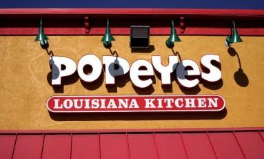 Restaurante da rede Popeyes em Westminster, no Colorado Foto: RICK WILKING / REUTERS