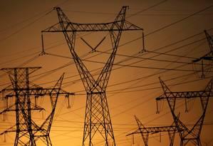 Linhas de transmissão de energia elétrica Foto: Ueslei Marcelino / Reuters