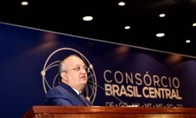Pedro Taques toma posse como presidente o Consórcio Brasil Central Foto: Divulgação