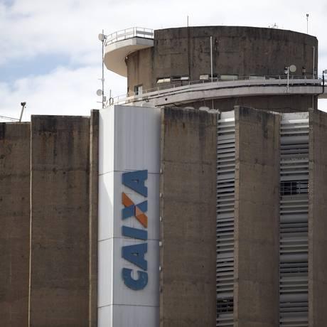 Edifício da Caixa Econômica Federal em Brasília Foto: Jorge William/Agência O Globo/18-01-2017