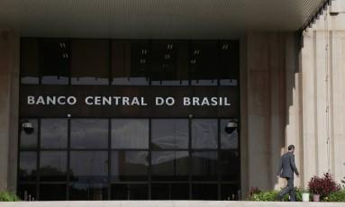 Sede do Banco Central, em Brasília Foto: Michel Filho/Agência O Globo/04-04-2016