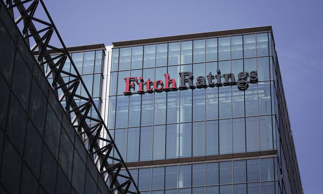 Prédio da agência Fitch, em Londres Foto: Simon Dawson / Bloomberg