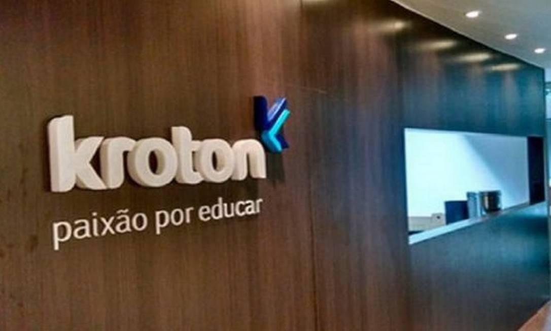 Logomarca da Kroton Educacional Foto: Reprodução