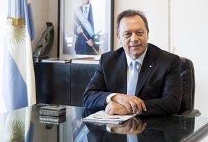 Ministro do Turismo da Argentina, Gustavo Santos. Foto: Graciela Calabrese / Graciela Calabrese