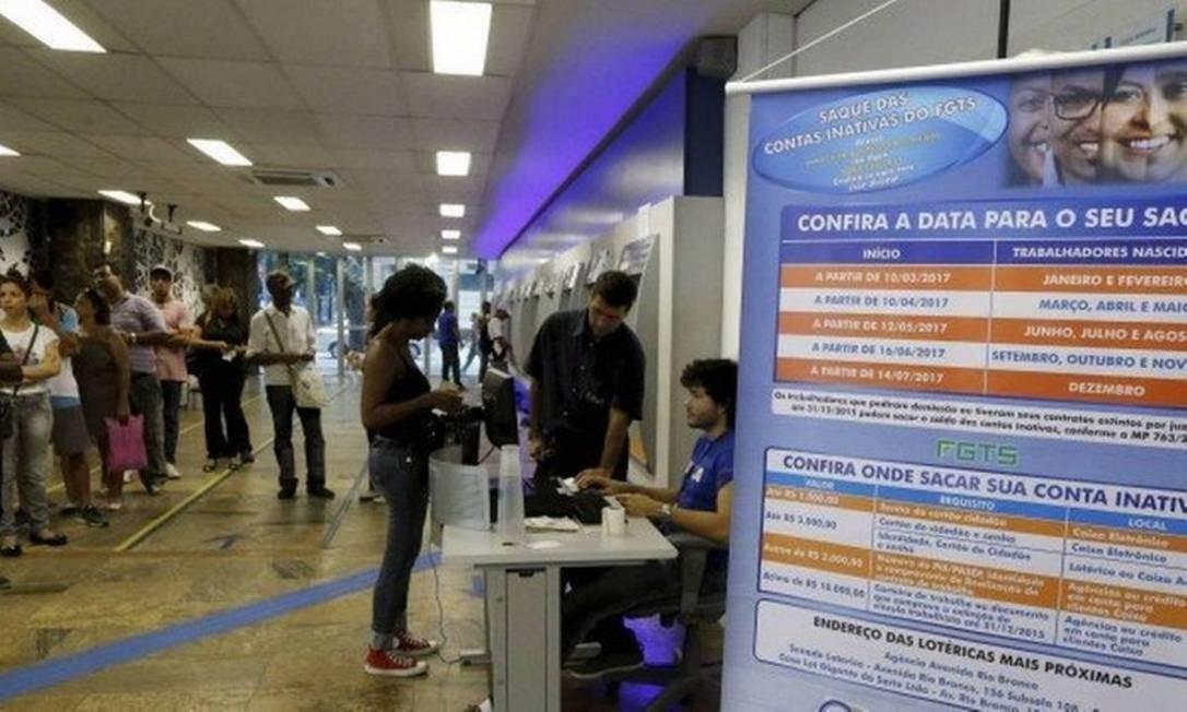Agência da Caixa Foto: Agência O Globo