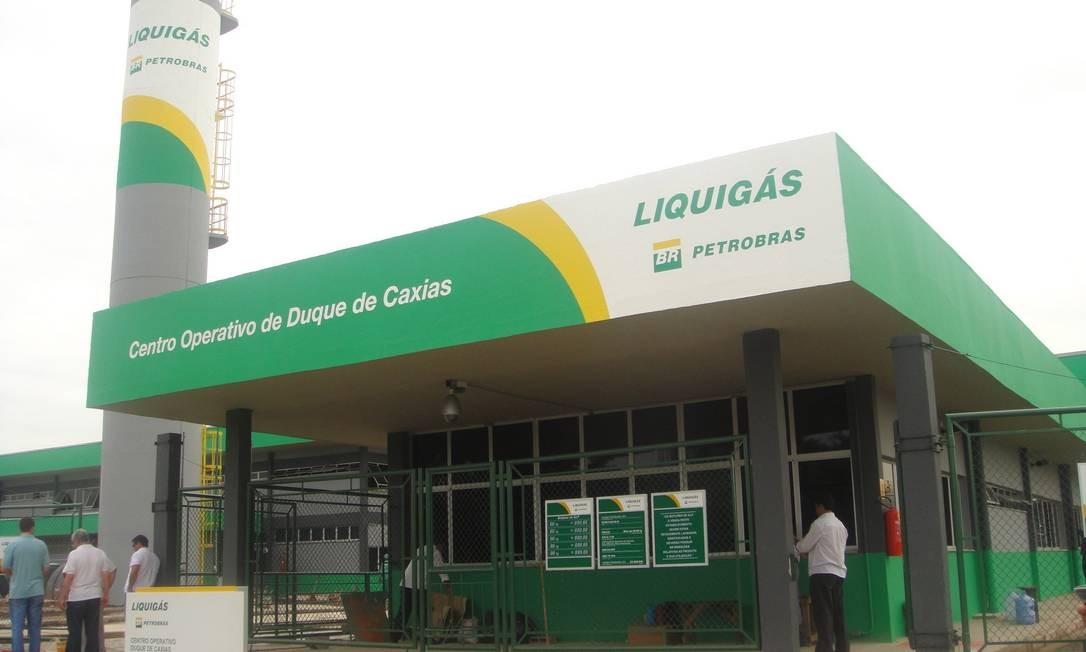 Centro de Engarrafamento da Liquigás Distribuidora em Duque de Caxias, no Rio. Foto: Divulgação
