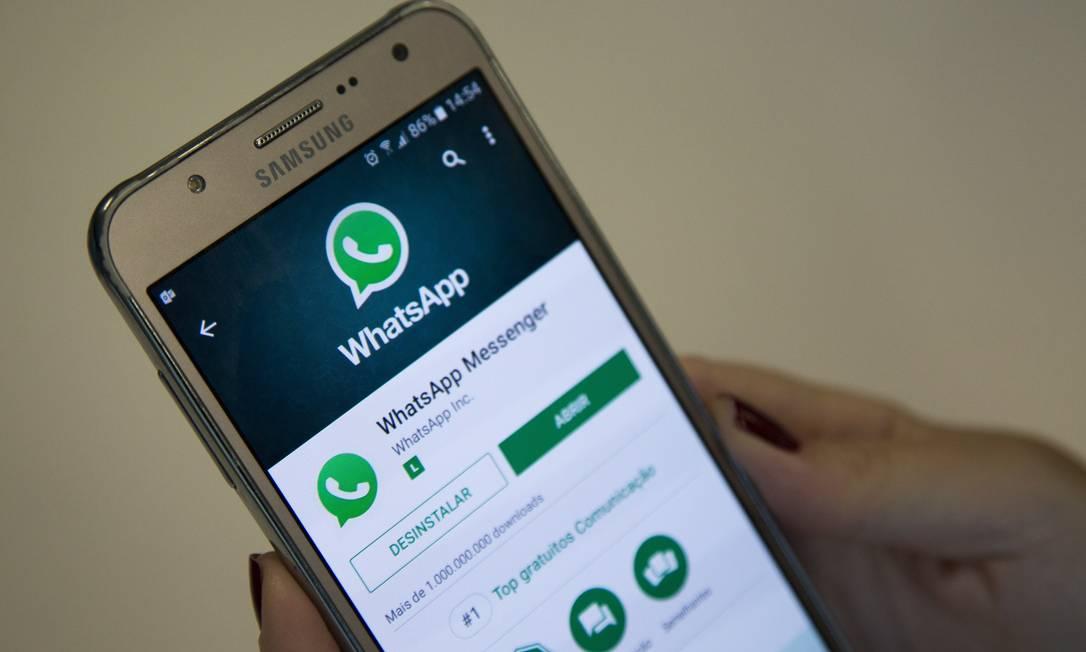 Favorito para quem compartilha, WhatsApp não pode ser rastreado Foto: Emily Almeida / Agência O Globo