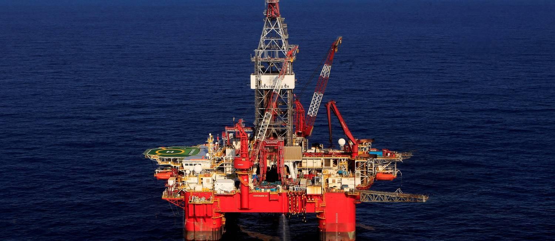 Visão geral da plataforma de petróleo de Centenário, no Golfo do México Foto: Henry Romero/17-01-2014 / Reuters