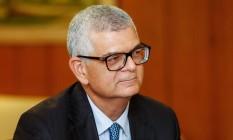Ivan Monteiro, presidente da Petrobras Foto: ALAN SANTOS / AFP