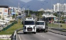 Tabela de preço mínimo do frete - Caminhoneiros Foto: Pablo Jacob / Agência O Globo