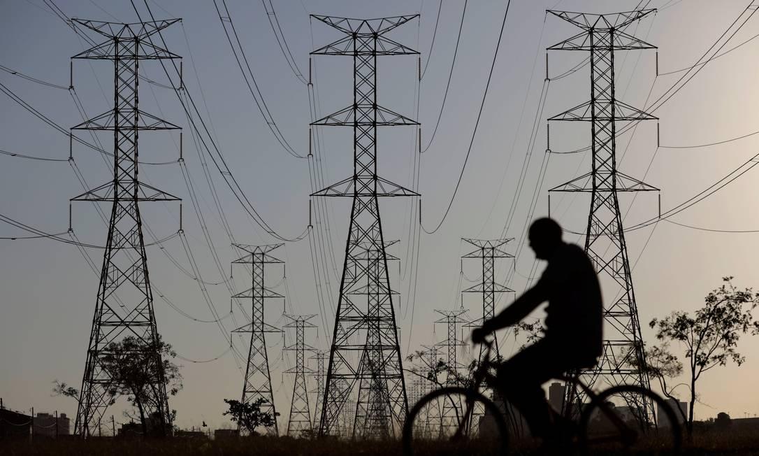 Sistema de distribuição de energia elétrica Foto: / Reuters