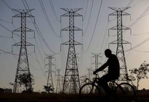 Sistema de distribuição de energia elétrica Foto: Reuters